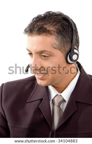 May I help you ? - stock photo