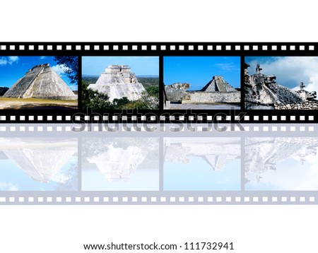 Maya Culture Computer generated 3D illustration - stock photo