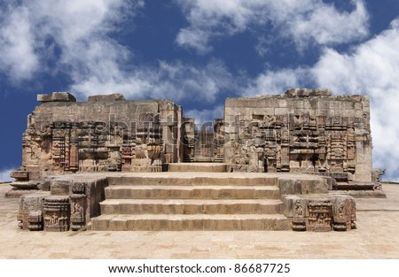 Mayadevi temple at Sun temple complex - stock photo