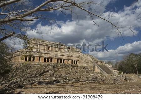 Mayan Ruins - stock photo
