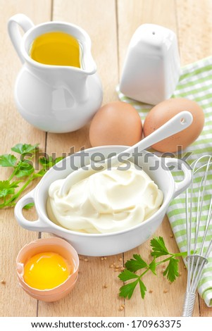 Mayonnaise - stock photo