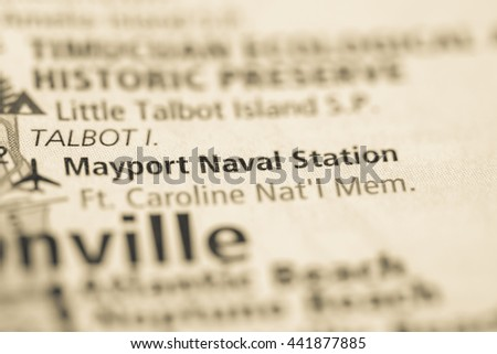 Mayport Naval Station. Florida. USA