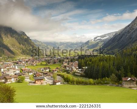 Mayrhofen im Zillertal - stock photo