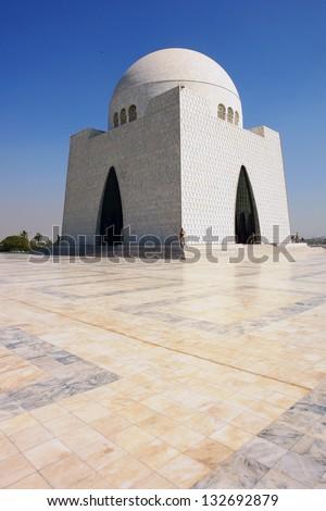 Mazar-e-Quaid - stock photo