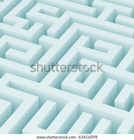 Maze Background - stock photo