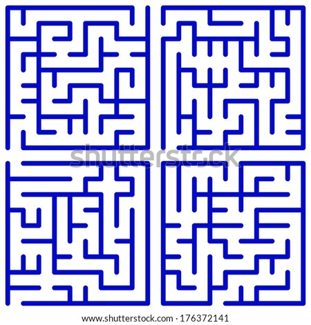 Maze set for the leisure