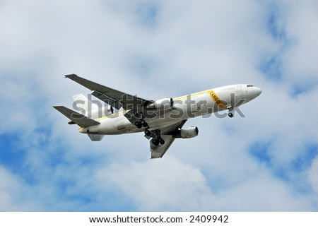 Mcdonnell Douglas DC-10 heavy cargo jet - stock photo