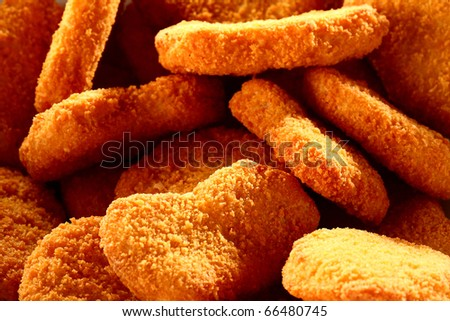 mcnugget - stock photo