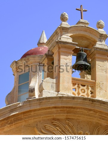 Mdina Church - stock photo