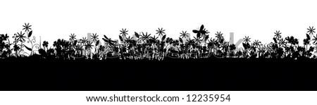 Meadow life - stock photo