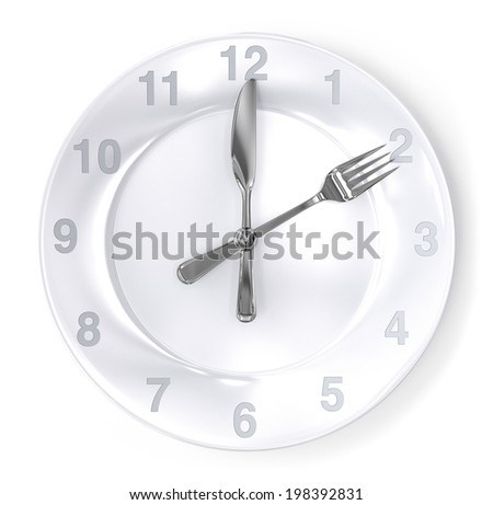 Mealtime - stock photo