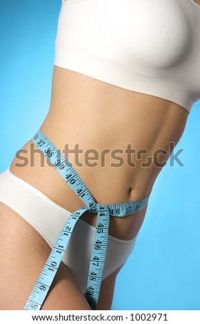 measure tape around waist