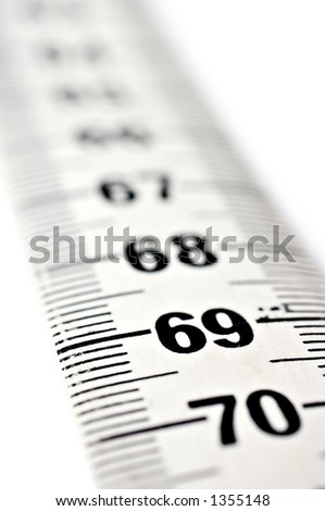 Measuring tape close-up