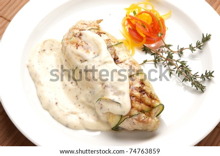 meat food - stock photo