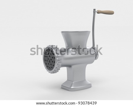 Meat Grinder - stock photo