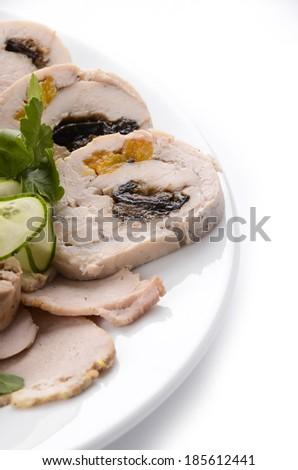 meat set - stock photo