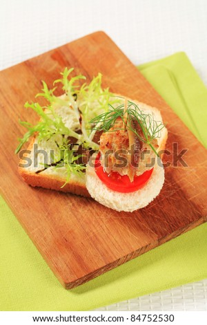 Cocktail meatballs stock photos images pictures for Meatball canape