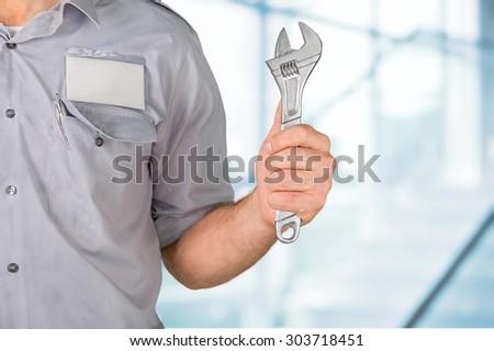 Mechanic. - stock photo