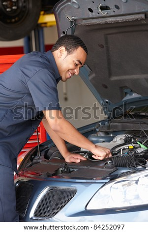 Mechanic at work
