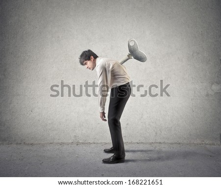 Mechanical Man - stock photo