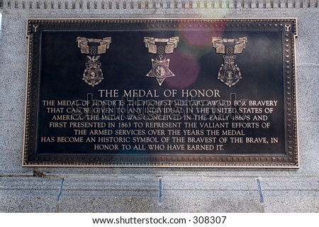 Medal of Honor - stock photo