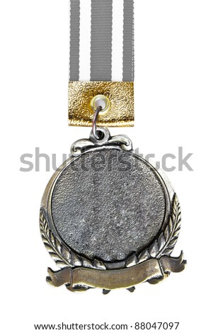 Medal on white background - stock photo