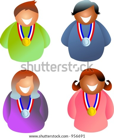 medal people