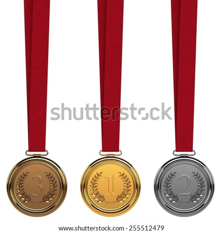 Medals - stock photo