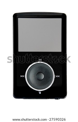 Media player  - stock photo