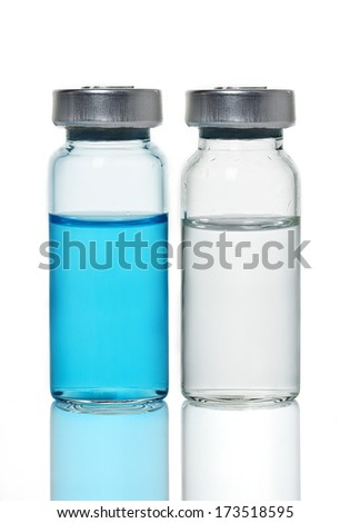 Medical ampoules - stock photo