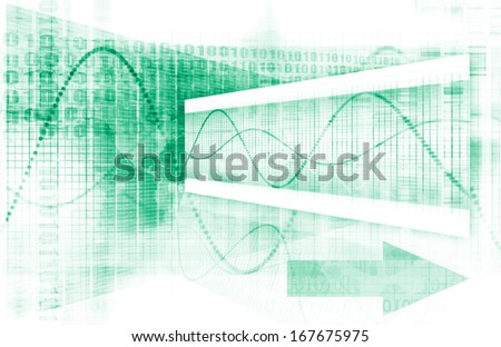 Medical Analysis and Diagnosis of Records Art - stock photo