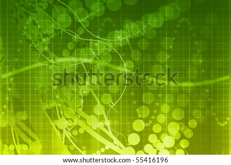 Medical and Science Futuristic Technology Abstract Background - stock photo