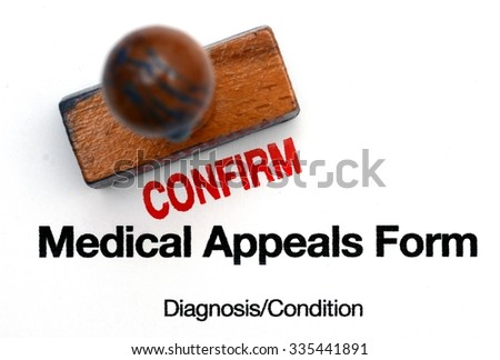 Medical appeals form - stock photo