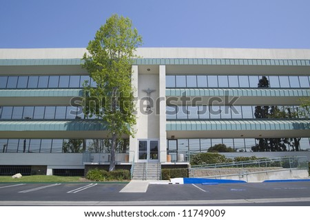 Medical Building - stock photo