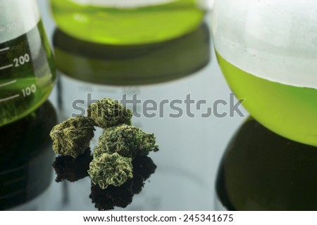 Medical Cannabis - stock photo