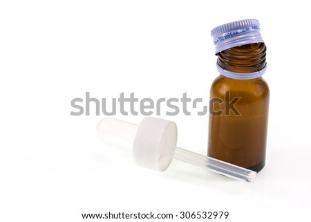 Medical Drops Bottle