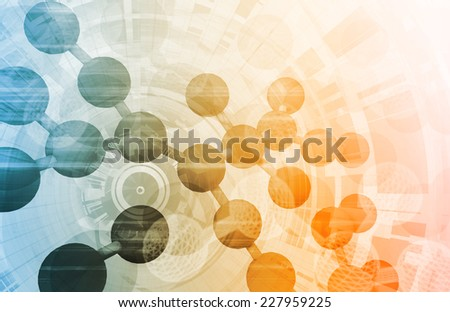 Medical Engineering as a Medicine Biology Art - stock photo
