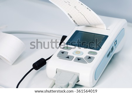 medical equipment for the measurement of ECG