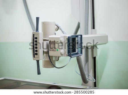 medical equipment,X-ray - stock photo