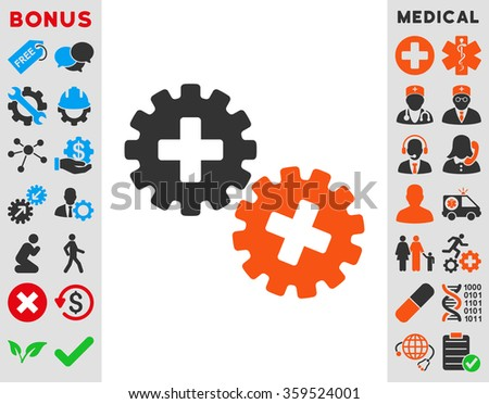 Medical Gears Icon