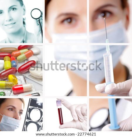 Medical / Healthcare Concept - stock photo