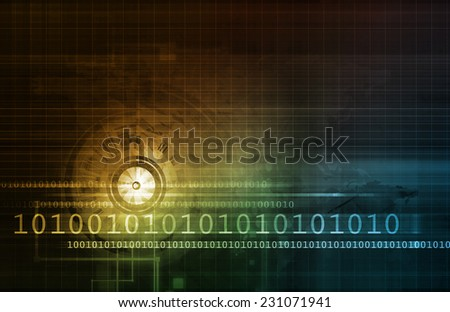 Medical Industry Concept as a Abstract Art - stock photo