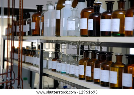 medical lab - stock photo