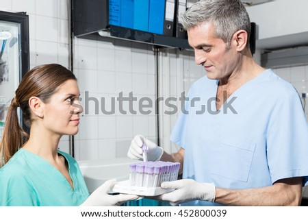 Medical Laboratory - stock photo