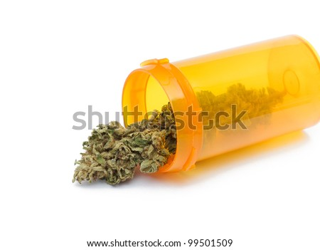 Medical Marijuana Concept - stock photo