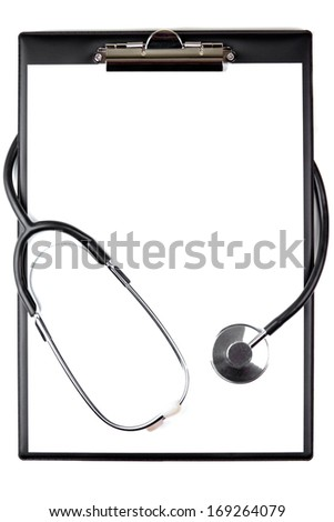Medical Notes and stethoscope