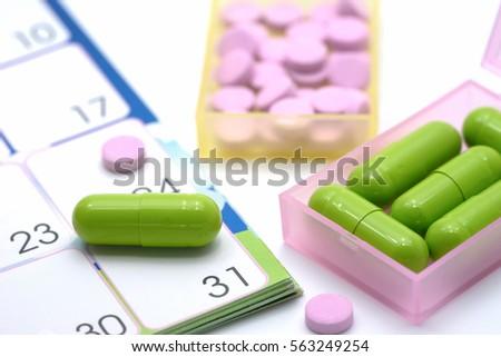 pill calendar