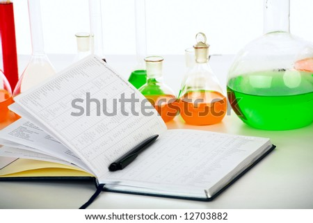Medical science equitpment. Research, laboratory, science, testing - stock photo