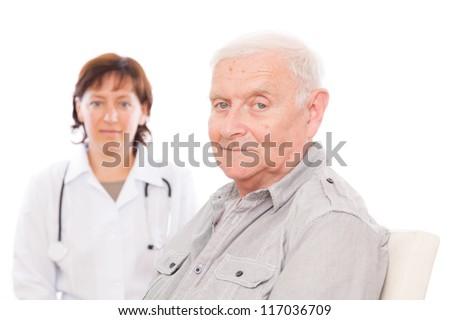 medical senior - stock photo