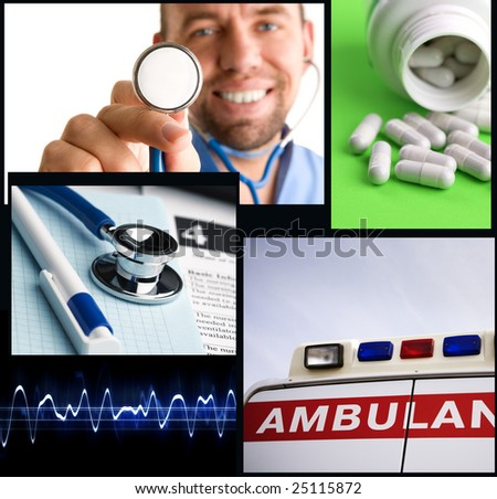medical service - stock photo